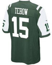 Nike Mens Tim Tebow New York Jets Limited Jersey - Lyst