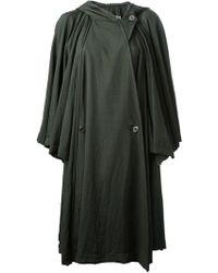 Issey Miyake Vintage Umbrella Cape Coat - Lyst