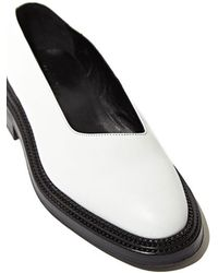Yang Li - Womens Leather Asymmetric Flat Shoes - Lyst