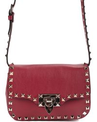 Valentino Mini Rockstud Crossbody Bag - Lyst