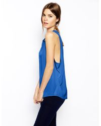 Asos Drop Arm Vest Top - Lyst