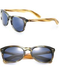 Burberry | 55mm Square Sunglasses | Lyst