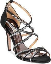 Badgley Mischka Meghan Evening Sandals - Lyst
