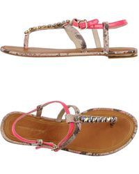 Juicy Couture Thong Sandal - Lyst
