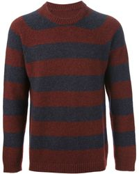 Maison Martin Margiela Striped Yak Wool Sweater - Lyst