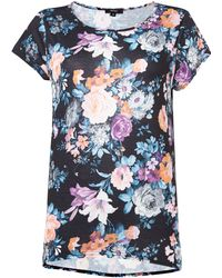 Therapy Large Floral Print Tshirt - Lyst