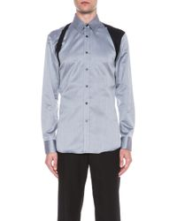 Alexander McQueen Harness Cotton Shirt - Lyst