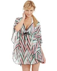 Becca Stay Connected Knit Swim Cover Up - Lyst