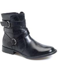 Børn - 'Mcmillan' Round Toe Boot - Lyst