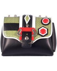 """Paula Cademartori Mini """"Kate-2 Bag With Reptile Inserts multicolor - Lyst"""