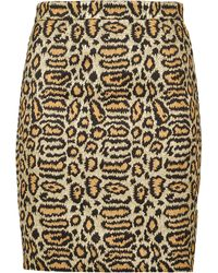 Saint Laurent Skirt - Lyst