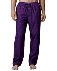 Polo Ralph Lauren Pony Print Woven Pajama Pants - Lyst