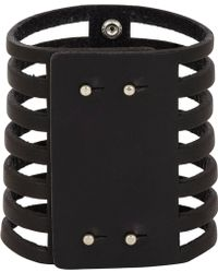 Isabel Marant Leather Parade 7 Row Bracelet - Lyst