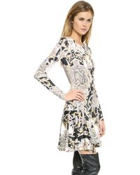 Just Cavalli Varsavia Print Dress Black - Lyst