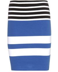 T By Alexander Wang Stretch Skirt - Lyst