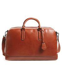 Ben Minkoff - 'jermyn' Leather Duffel Bag - Lyst