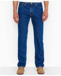 Levi's Big and Tall 505 Originalfit Dark Jeans - Lyst