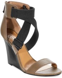 Report Signature Lionna Wedge Sandals - Lyst