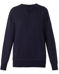 Isabel Marant Obli Cashmere and Silk-blend Sweater - Lyst