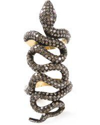 Samira 13 - Snake Ring - Lyst
