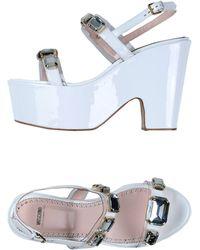 Moschino Cheap & Chic Sandals - Lyst