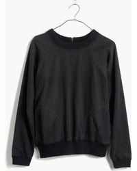 Madewell Denim Sweatshirt Shirt - Lyst
