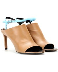 Balenciaga | Spy Leather Sandals | Lyst
