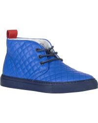 Del Toro Quilted Alto Chukka Sneakers - Lyst