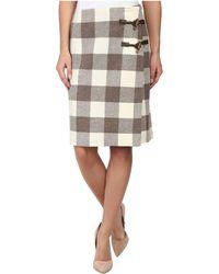 Pendleton Plaid Times Wrap Skirt - Lyst