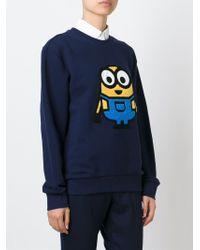 Steve J & Yoni P - Minion Patch Sweatshirt - Lyst