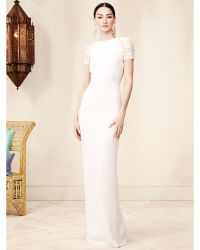 Ralph Lauren Silk Alexandria Gown - Lyst