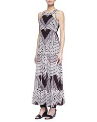 Free People Adrinas Printed Maxi Dress - Lyst