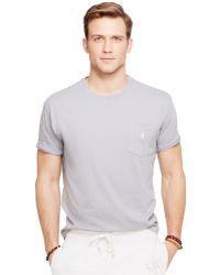 Polo Ralph Lauren Crew-Neck Pocket T-Shirt - Lyst