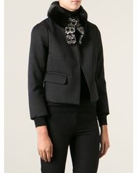 DSquared2 Cropped Jacket - Lyst
