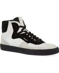 Bally Heden Hi-top Trainers - Lyst