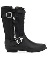 Burberry Brit Claredon Rubber Rain Boots - Lyst