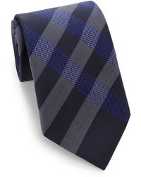 Burberry Regent Check Silk Tie - Lyst