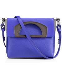 Christian Louboutin Purple Passage Mini - Lyst