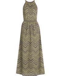 M Missoni Crochet Knit Maxi Dress - Lyst