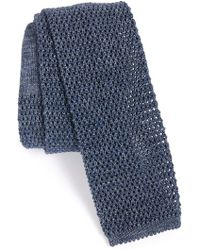 Maker & Company - Knit Cotton Tie - Lyst
