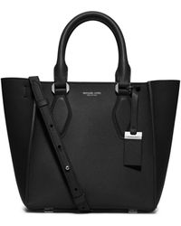 Michael Kors | Gracie Small Leather Tote | Lyst