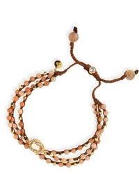 Tai - Rose Agate 3-strand Bracelet - Lyst