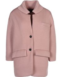 Burberry Prorsum Midlength Jacket - Lyst