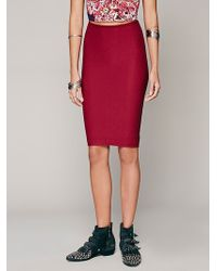 Free People Seamless Half Slip - Lyst