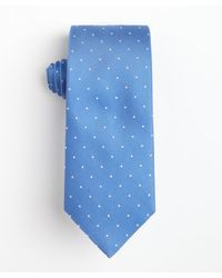 Hugo Boss Pastel Blue Dotted Silk Tie - Lyst