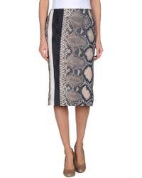 Prada 3/4 Length Skirt - Lyst