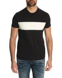 Armani Jeans Aj Black Print T-Shirt - Lyst
