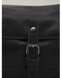 Ann Demeulemeester Blanche - Buckled Leather Shoulder Bag - Lyst