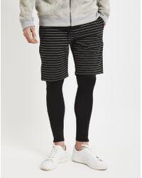Publish | Danson Shorts With Lining Black | Lyst