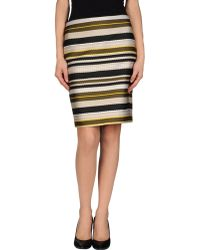 Jenni Kayne Knee Length Skirt - Lyst